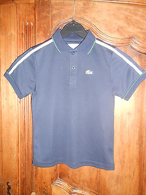 9937546f0c2db POLO SPORT MANCHES courtes LACOSTE marine taille 8 ans - neuf - EUR ...