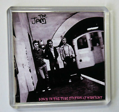 The Jam Down In The Tube Station Fridge Magnet