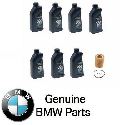 Engine Oil Filter Mann + Genuine BMW Synthetic 5w30 Motor Oil