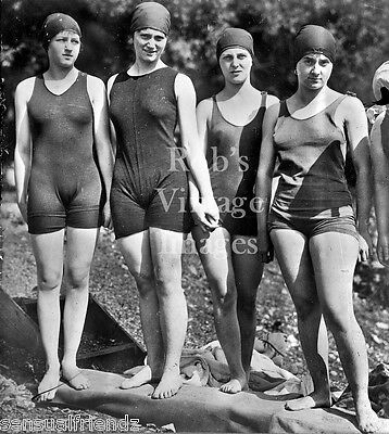 5400fbcfb84fa Flapper Women Girls Swimsuits Photo early 1920s Flappers Jazz Prohibition  Christmas Supplies