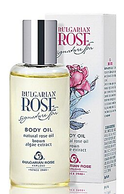 Signature Spa Body Oil With Natural Rose Oil, Brown Algea Extract, Bath 100 mL