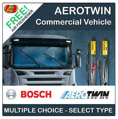 BOSCH AEROTWIN FLAT WIPER BLADE x1 for TRUCK - LORRY - VAN - COMMERCIAL - WAGON