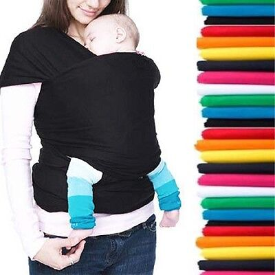 INFANT BABY SLING STRETCHY WRAP CARRIER - BIRTH -3 yrs - BREASTFEEDING BACKPACK