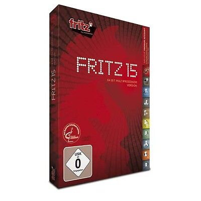 Fritz 15 - 64 bit multiprocessor version (PC-DVD)