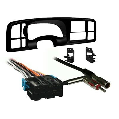 Metra Double DIN Car Stereo Radio Install Dash Kit for 1999-02 Silverado/Sierra