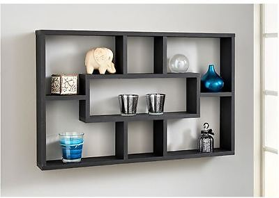 Space Saving Floating Wall Shelves Display Shelf Bookshelf Storage Unit