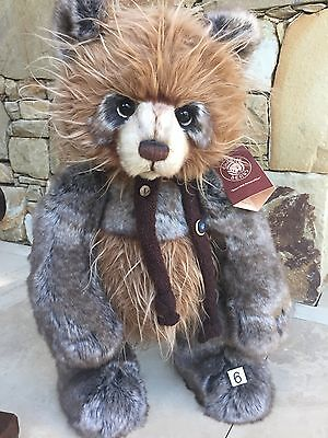 Scarecrow Collectable Charlie Bears Fully Jointed 48cm cm Plush Standing Bear
