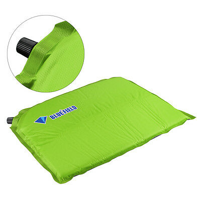 Self Inflatable Cushion Seat Pad for Camping Travel Hiking Outdoor Sports Green