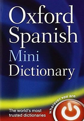**NEW** - Oxford Spanish Mini Dictionary (Flexibound) - ISBN0199692696