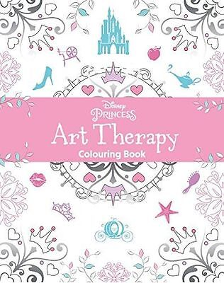 *NEW* - Disney Princess Art Therapy Colouring Book (Paperback) - ISBN1474836046