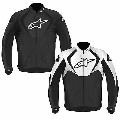 Alpinestars Jaws Leather Sports Race Motorcycle Motorbike Jacket | All Colours
