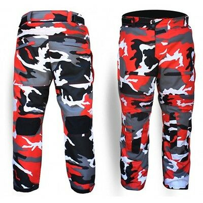 """Motorcycle Waterproof Dririder style Cordura pant trouser CE armour SIZE 30""""-46"""""""