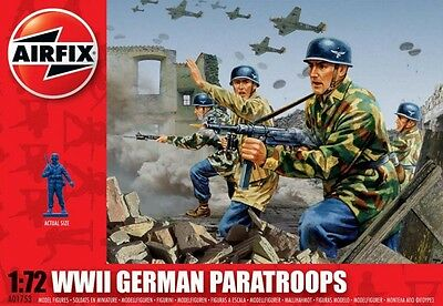 AIRFIX A01753 WWII German Paratroops 1:72 Scale