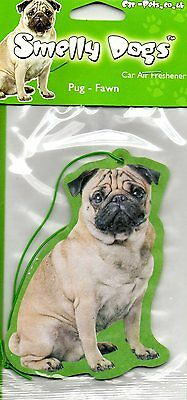 Pug Fawn Pug Fragrant Air Freshener Long Lasting For Car / Home