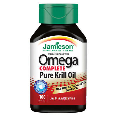 Jamieson Omega Red Super Krill 100 Perle