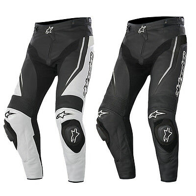 Alpinestars Track Leather Race Motorcycle Motorbike Trousers Pants | All Colours