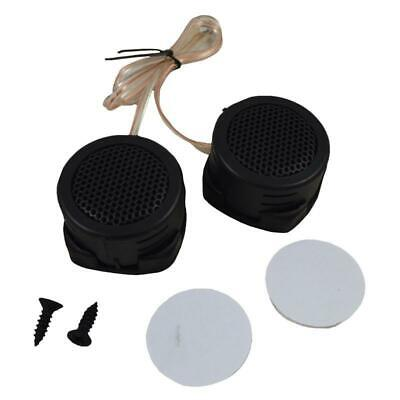 """High Efficiency 500 Watts 4 Ohm 1-1/2"""" Dome Tweeter w/ Built-in Crossover (pair)"""