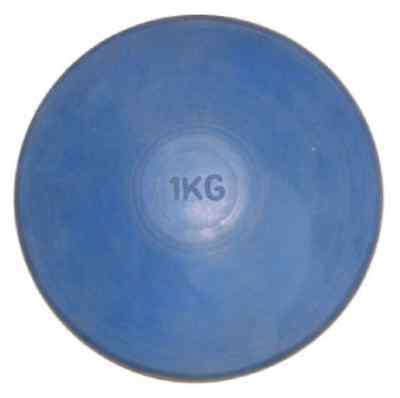 Buffalo Sports Rubber Discus - Heavy Duty Mould - 350G To 2Kg