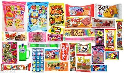 30 PIECE JAPANESE CANDY SET Gummy Ramune Ramen Jelly Chips Christmas Sweets-5