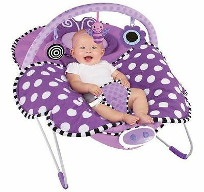 Baby Bouncer Sassy Cuddle Bug Bouncer Violet Butterfly