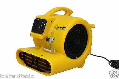 Zoom Centrifugal Carpet Floor Dryer 1/3 HP With Carpet Clamp