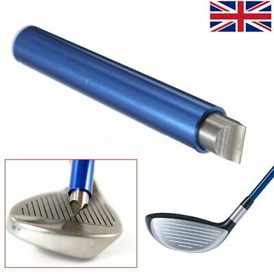 Pro Alloy Groove Wedge Iron Club Groove Sharpener & Cutter Cleaner For Golf