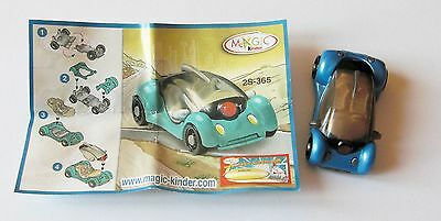 Kinder Auto Blu 2S-365 Con Cartina