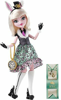 Ever After High - Bunny Blanc Puppe, Tochter von The White Rabbit, neu, Doll