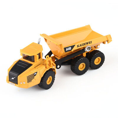 1:87 Scale Diecast Dump Truck Construction Vehicle Cars Model Toys by KDW