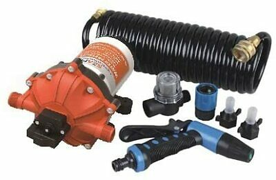 NEW SEAFLO 12V 5.0 GPM 70 PSI Washdown Deck Pump KIT Boat Marine 4 Year Warranty