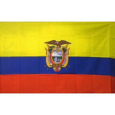 Ecuador 2 x 3' Banner National Flag 60cm x 90cm