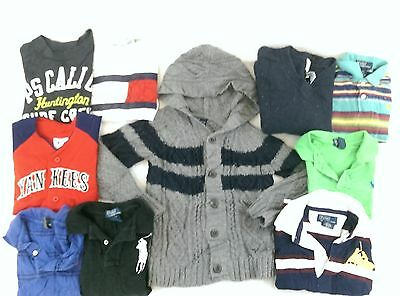 Polo Ralph Lauren Lot of 10 Boys Toddlers Polo Shirts/Sweaters 4T/5 [BF8143]