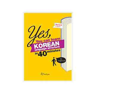 YES! You Can Learn Korean Language Book Structure in 40 minutes