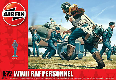 AIRFIX A01747 WWII RAF Personnel 1:72 Scale
