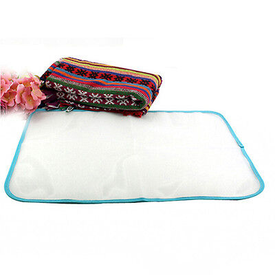 Protect Heat Resistant Ironing Pad Garment Ironing Board Cloth Cover Against Hot