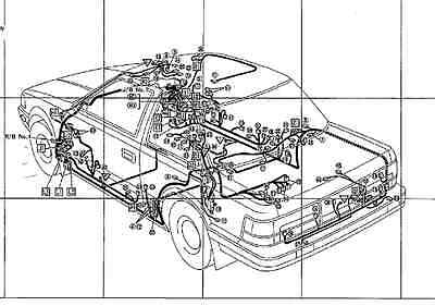 z20 Soarer Wiring Diagrams 1986 ENGLISH GZ20 MZ20 MZ21 1G-GTE 7M-GTE