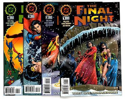 The Final Night #1-4, plus 1996 Specials (1996) DC VF/NM to NM