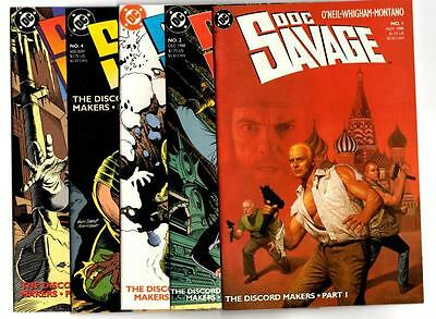 Doc Savage #1-10 (1988) DC VF/NM to NM-