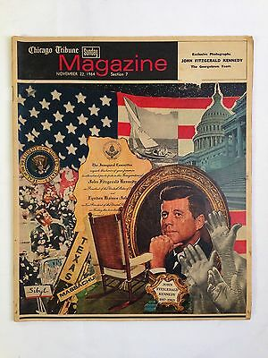 Chicago Tribune Sunday Magazine November 22, 1964 JFK Memorial