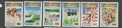 New Zealand 1993 NZ in the 1940's MNH mint set stamps