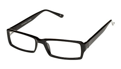 Mens Designer Glasses Frames - Suitable For Prescription Lenses - Black