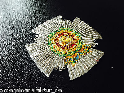 Großbritannien Order of the Bath Commander gestickter Bruststern Replik