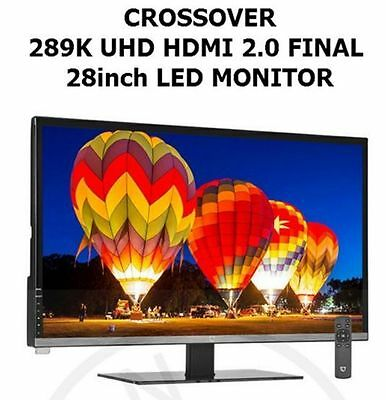Crossover 289K UHD HDMI 2.0 FINAL 28inch LED Monitor
