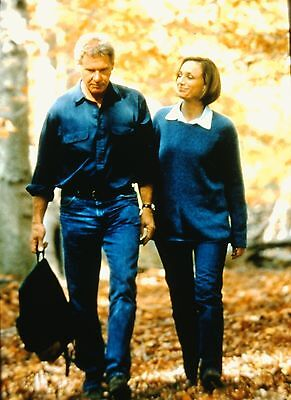 "KRISTIN SCOTT THOMAS & HARRISON FORD in ""Random Hearts"" - Orig. 35mm COLOR Slide"