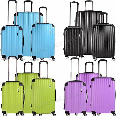 Lightweight Luggage Travel Suitcase Large Trolley Cabin Case Wheeled Hard Shell