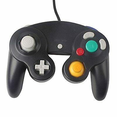 Wired Controller For Nintendo Wii Black Gamepad For GameCube & Wii Brand New 7Z