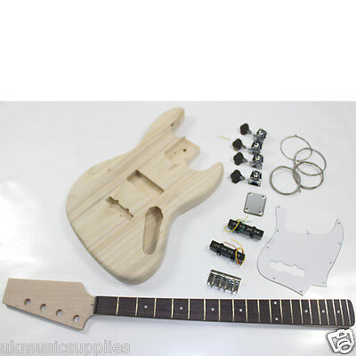 Coban HY109 JAZZ Bass Electric Guitar DIY kit trade enquiries ALWAYS WELCOME.