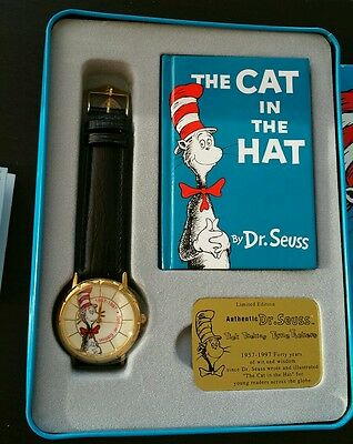 THE CAT IN THE HAT 40TH ANNIVERSARY WATCH by DR.SEUSS
