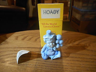 Hoagy Mosser Clown Collectible Figurine With Box