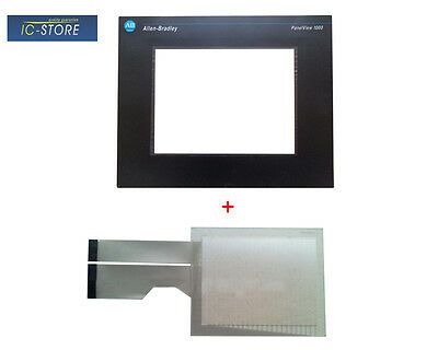 AB Allen-Bradley Panelview 1000 2711-T10C1 touch screen digitizer + Cover